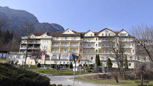 Le Grand Hotel Sonnenbichl, à Garmisch-Partenkirchen dans les Alpes bavaroises (Allemagne), où réside le souverain thaïlandais depuis plusieurs semaines (STEFFI ADAM/GEISLER-FOTOPRESS / GEISLER-FOTOPRESS)