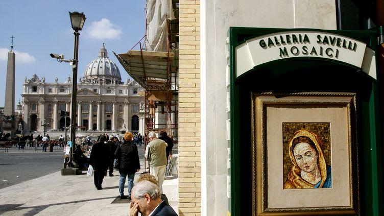 Le Vatican, le 15 mars 2005. (VINCENZO PINTO / AFP)
