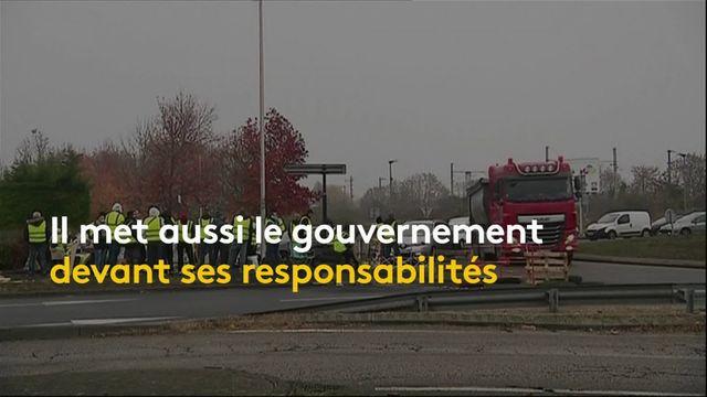 """Nicolas Hulot : """"Ne mettez pas tout sur le dos de l'écologie"""", répond-il aux """"gilets jaunes"""""""