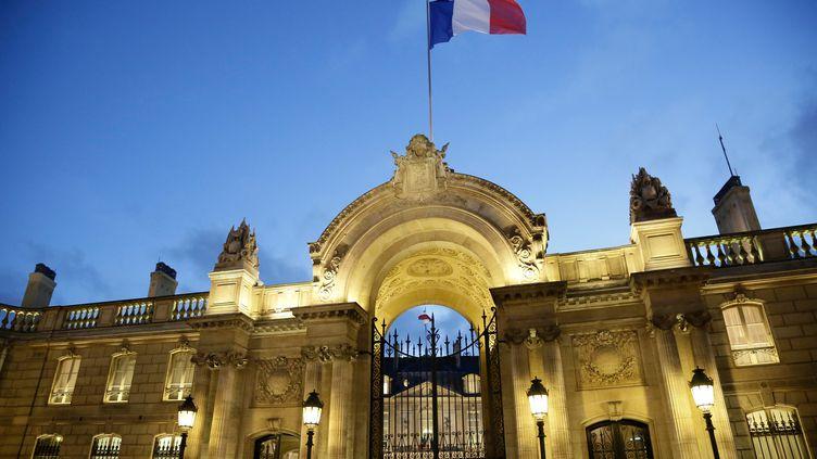 Le palais de l'Elysée, à Paris, le 18 décembre 2013. (MAXPPP)