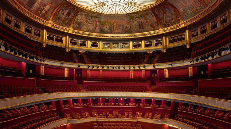 La salle du Théâtre des Champs-Elysées en mars 2018. (HARTL MEYER - TCE)