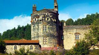 La forteresse de Saint-Vidal en Haute-Loire (Le château de Saint-Vidal)