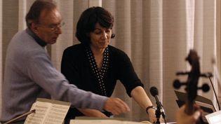 Claire Gibault a travaillé auprès de Claudio Abbado à l'orchestre Mozart de Bologne  (DR)