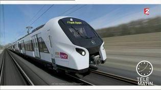 Un des nouveaux RER construits par Alstom et Bombardier (FRANCE 2)