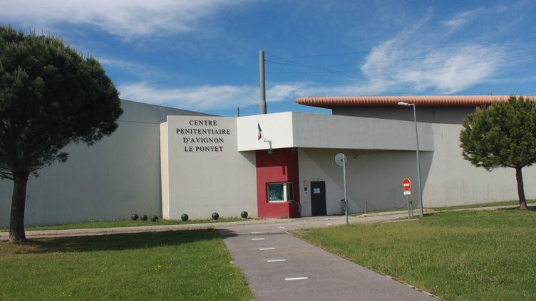 """Le centre pénitentiaire d'Avignon-Le Pontet a été construit en 2003, il s'agit d'une prison """"nouvelle génération"""", le 13 mai 2020. (LAURE DEBEAULIEU / RADIO FRANCE)"""