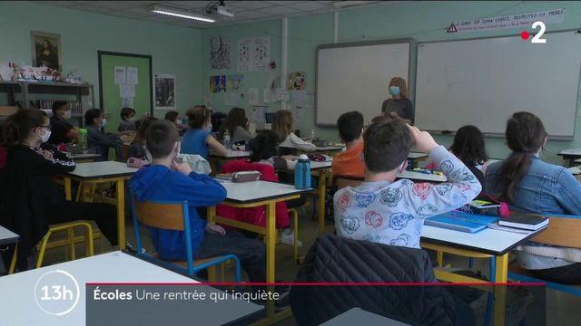 Écoles : la rentrée des classes inquiète les enseignants