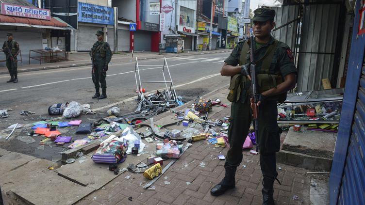 Le nord du Sri Lanka est secoué depuis 48h par des émeutes anti-musulmans. (LAKRUWAN WANNIARACHCHI / AFP)