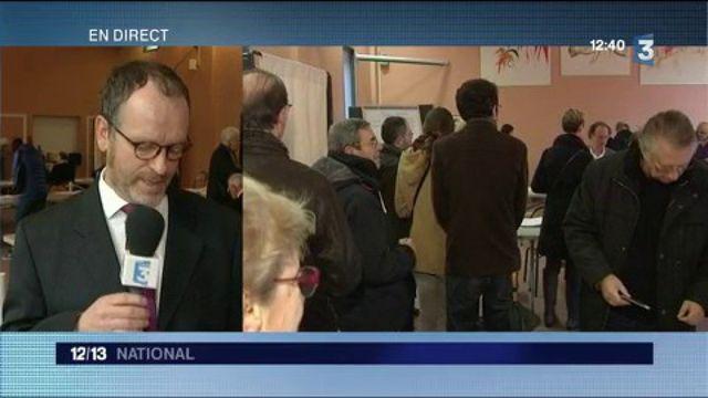 Primaire : participation en hausse dans un bureau de vote du Nord