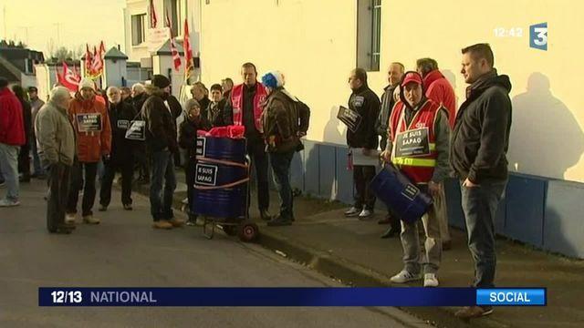 Somme : toute une ville manifeste contre la fermeture d'une usine
