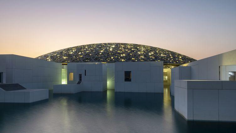 Le Louvre Abu Dhabi Museum à Abu Dhabi, United Arab Emirates, en 2019 (DOMINIC BYRNE / ROBERT HARDING HERITAGE)