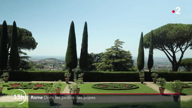 Rome : dans les jardins des papes