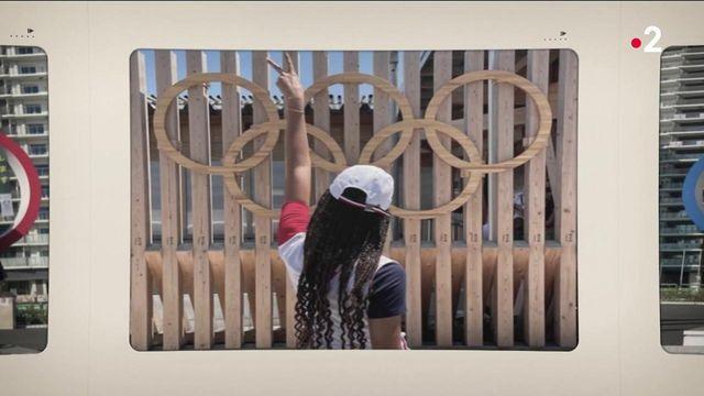 les athlètes découvrent le village olympique