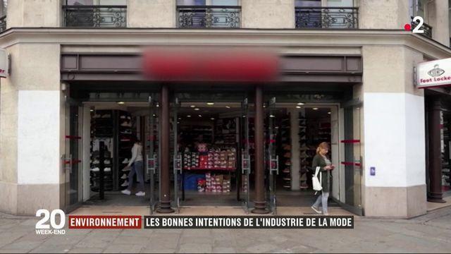 Environnement : les bonnes intentions de l'industrie de la mode