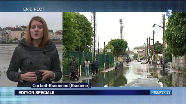 Inondations : la situation reste difficile dans l'Essonne