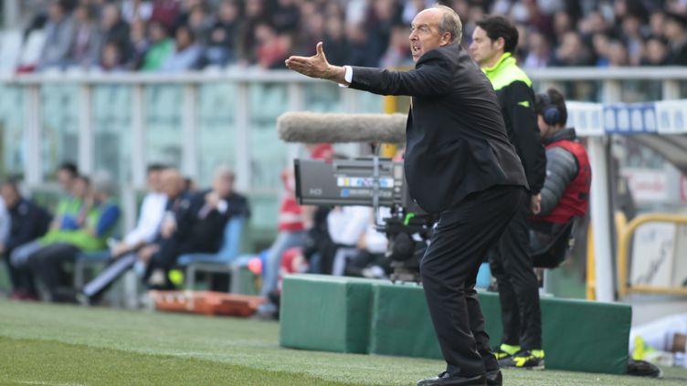 Giuampiero Ventura sur le banc de la Torino. (LORIS ROSELLI / NURPHOTO)