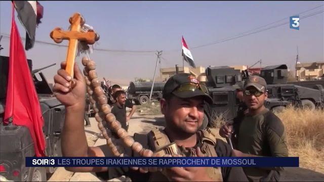 Les troupes irakiennes se rapprochent de Mossoul