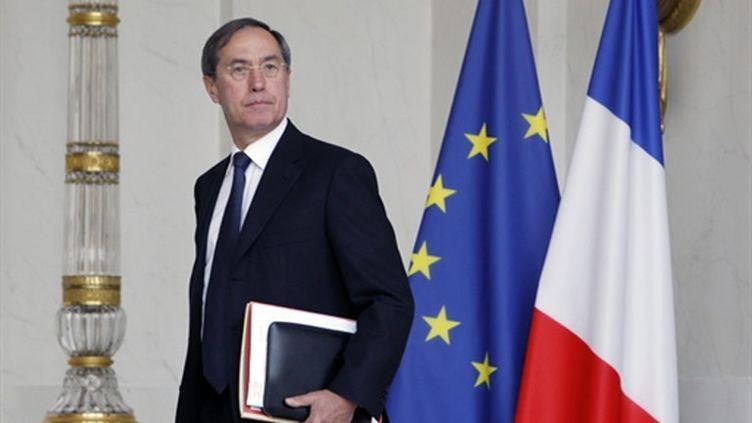 Le secrétaire général de l'Elysée Claude Guéant, le 25 août 2010. (AFP - Patrick Kovarik)