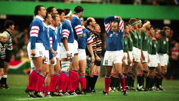 (1995 : une demi-finale France-Afrique du Sud pleine de rebondissements © Colorsport / Corbis)