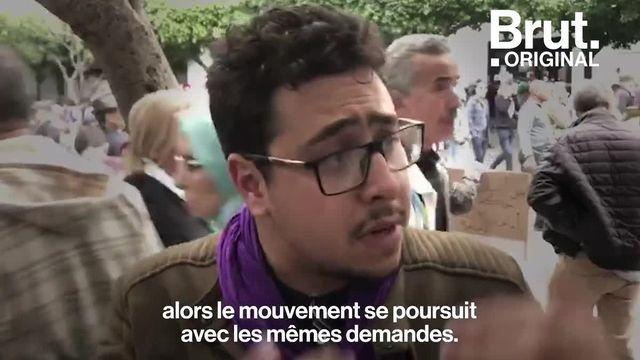 Comme tous les vendredis depuis 9 mois, des jeunes Algériens descendent dans la rue. Ils racontent à Brut pourquoi ils manifestent.