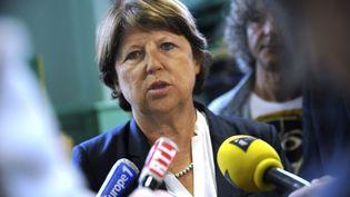 Martine Aubry, mardi 2 septembre 2014 à Lille (Nord). (FRANCOIS LO PRESTI / AFP)