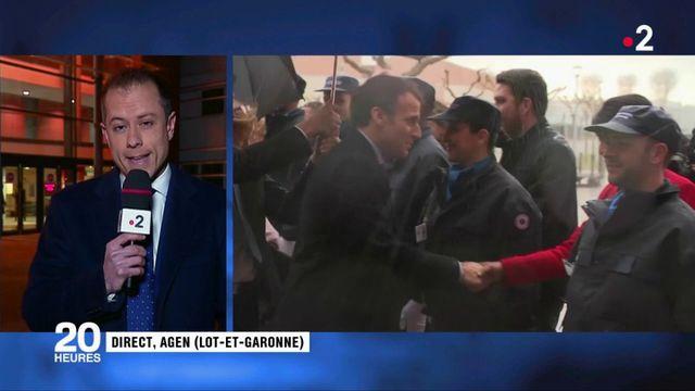 """Agen : Macron souhaite en finir avec """"les petites peines de prison"""""""
