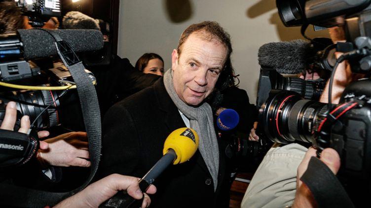 (François-Marie Banier au tribunal à Bordeaux © Maxppp)