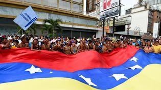 Manifestation de l'opposition à Caracasle 1er septembre 0216 (JUAN BARRETO / AFP)
