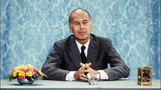 Valéry Giscard d'Estain à l'Elysée, le 26 juin 1980. (AFP)