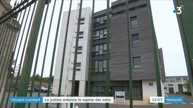Affaire Vincent Lambert : la justice ordonne la reprise des soins
