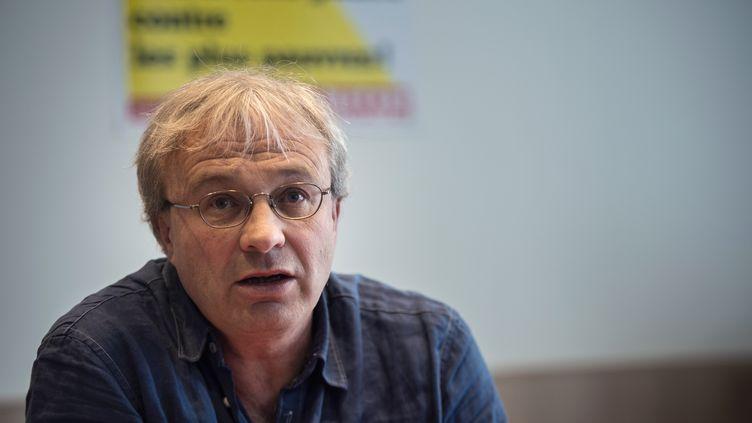 Jean-Pierre Mercier, délégué syndical CGT chez PSA, le 29 mars 2019. (- / AFP)