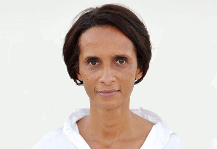 """Karine Silla, l'auteure d'""""Aline et les hommes de guerre"""". (VINCENT PEREZ)"""