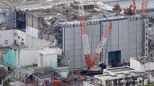 Vue aérienne du réacteur n°3 de la centrale de Fukushima, le 23 juillet 2013 au Japon. (KYODO / REUTERS )