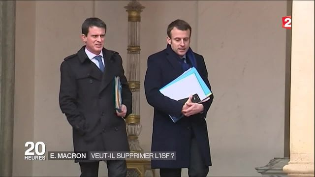 Suppression de l'ISF : la nouvelle offensive d'Emmanuel Macron
