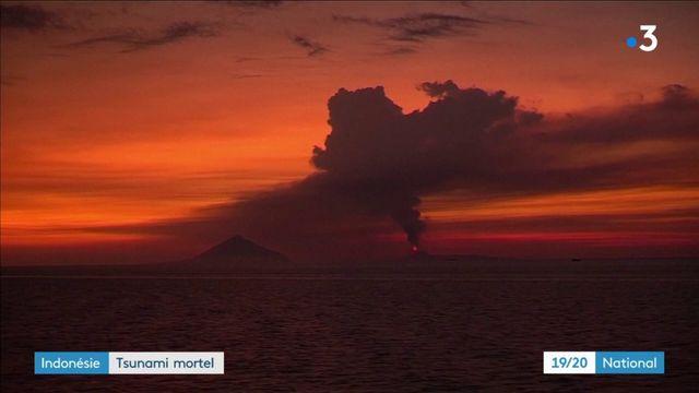 Indonésie : tsunami mortel après l'éruption d'un volcan
