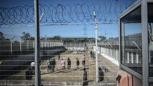 Un centre de rétention administrative à Vincennes, à l'est de Paris, le 18 septembre 2019. (STEPHANE DE SAKUTIN / AFP)