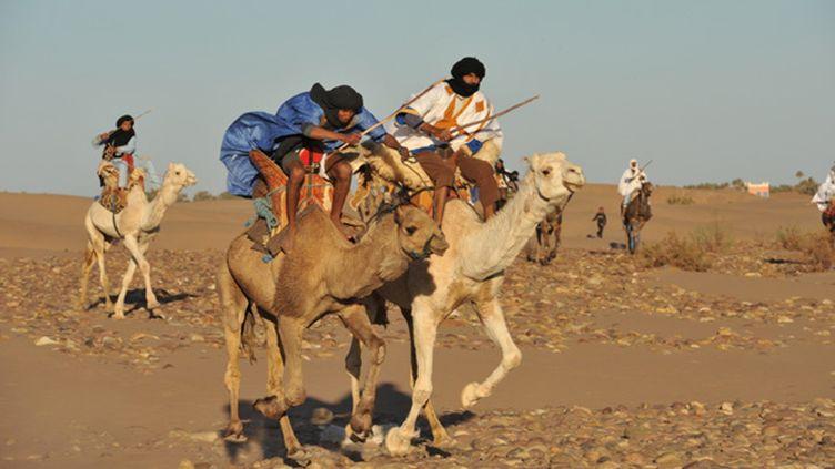 (Le festival international des nomades au Maroc © Radio France / Nathanaël Charbonnier)
