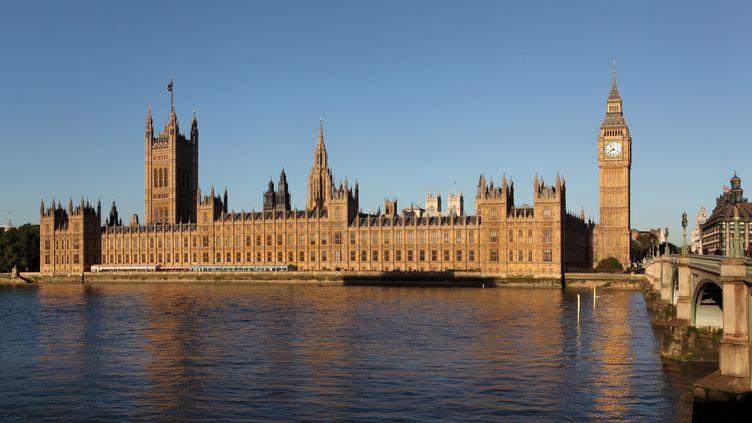 Le palais deWestminster, le 23 avril 2018, à Londres, au Royaume-Uni. (MANUEL COHEN / AFP)