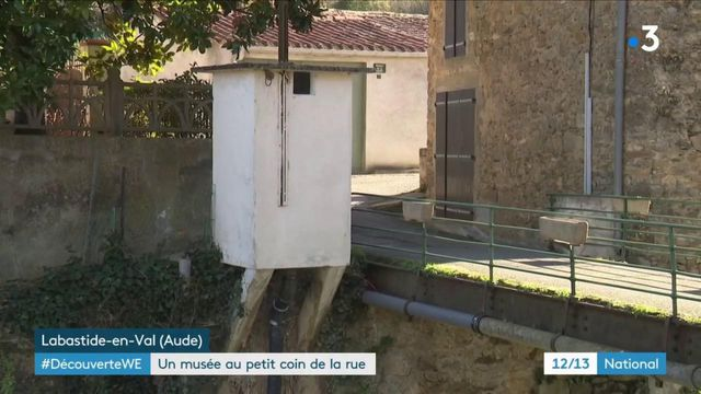 Aude : des toilettes publiques reconverties en micro-musée à Labastide-en-Val