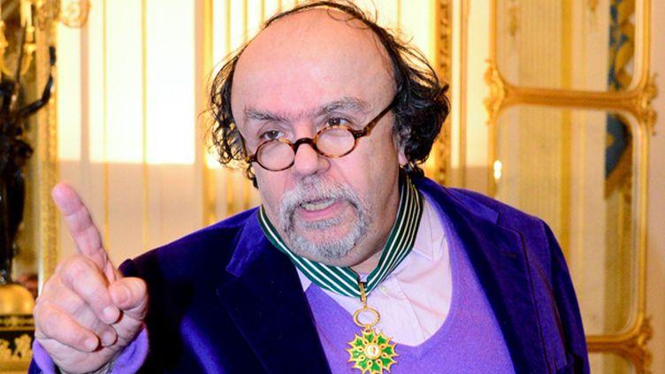 Jean-Michel Ribes, commandeur des Arts et Lettres  (LAURENT BENHAMOU/SIPA)