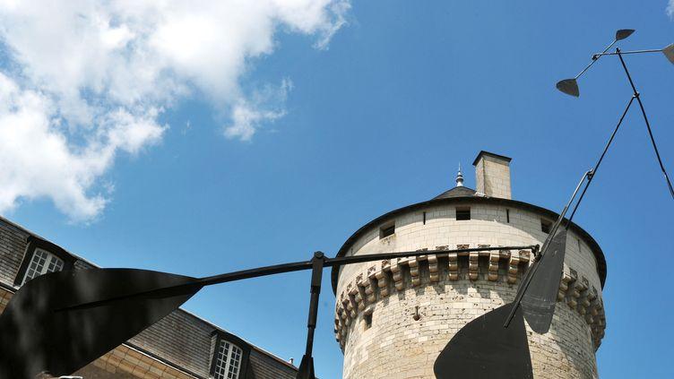 Une oeuvre de Calder exposée en 2008 à Tours  (ALAIN JOCARD / AFP)