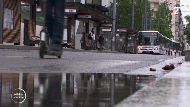 Lyon : les transports en commun à l'heure du déconfinement