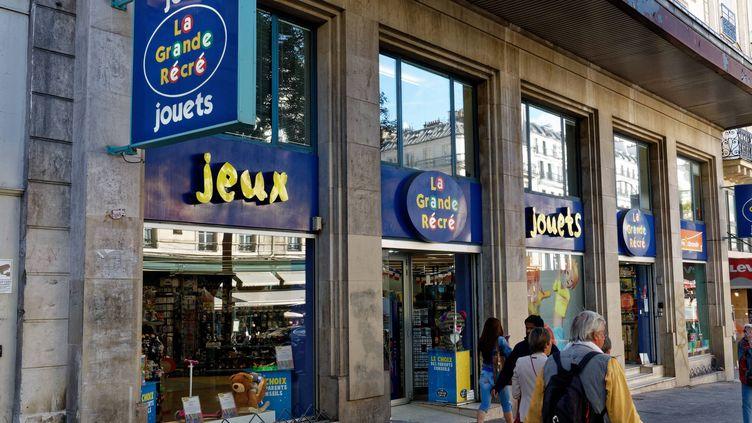 Après une année marquée par la crise, et la reprise de plusieurs de ses magasins, La Grande Récré pourrait trouver son salut dans le jouet français. (DANIEL FOURAY / MAXPPP)