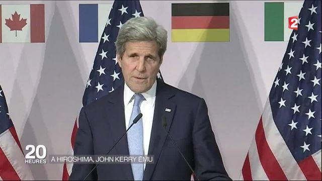 John Kerry en visite historique à Hiroshima
