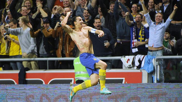 Zlatan Ibrahimovic (FREDRIK SANDBERG / SCANPIX SWEDEN)