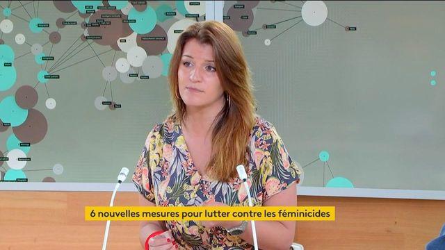 VIDEO. La ministre déléguée Marlène Schiappa invitée sur franceinfo