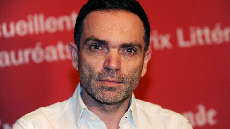 L'écrivain et chroniqueur Yann Moix, le 21 novembre 2013 au Touquet (Pas-de-Calais). (FRANCOIS LO PRESTI / AFP)