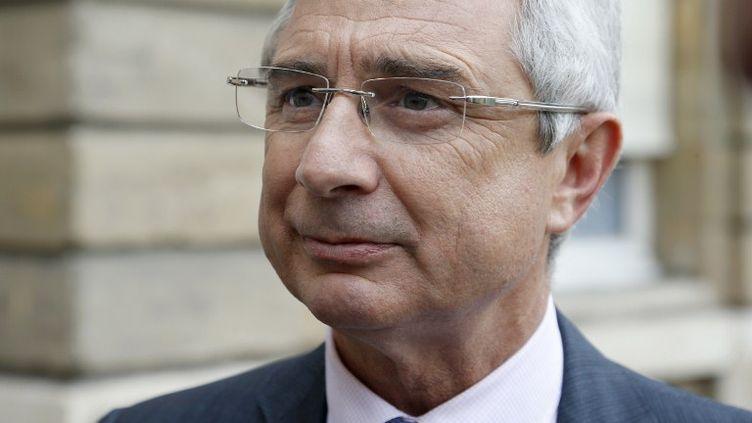 Claude Bartolone est le nouveau président de l'Assemblée nationale, ici à Paris, le 17 juin 2012. (THOMAS SAMSON / AFP)