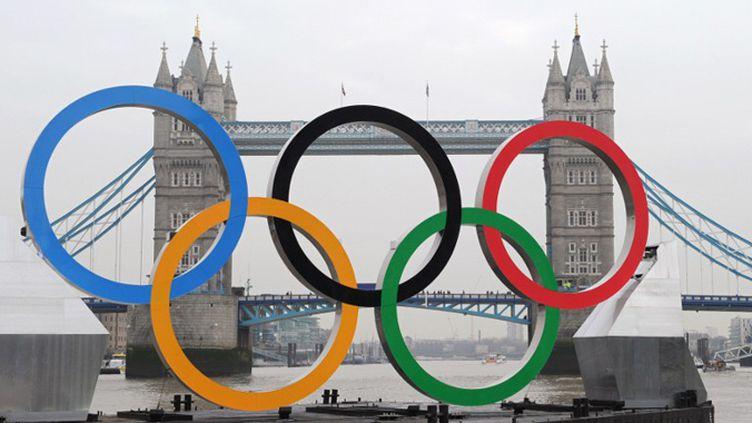 Les entreprises londoniennes se préparent à accueillir les JO avec fébrilité (MIGUEL MEDINA / AFP)