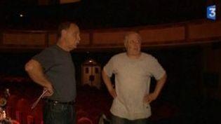 """Scènes de répétitions pour Marc Jolivet et son """"Comic Symphonic""""  à l'Opéra Théâtre  (Culturebox)"""