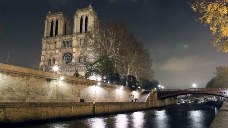 Notre-Dame de Paris fête ses 850 ans  (PATRICK KOVARIK / AFP)